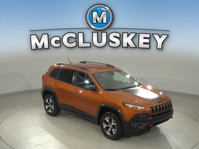 Pre-Owned 2015 Jeep Cherokee Trailhawk